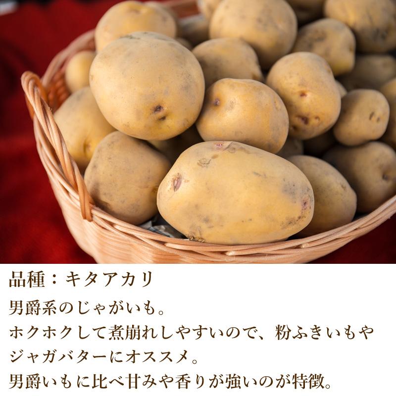 奥久慈野菜 キタアカリ