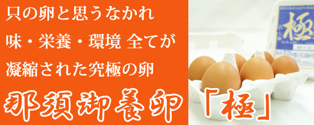 究極の卵「那須御養卵 極」